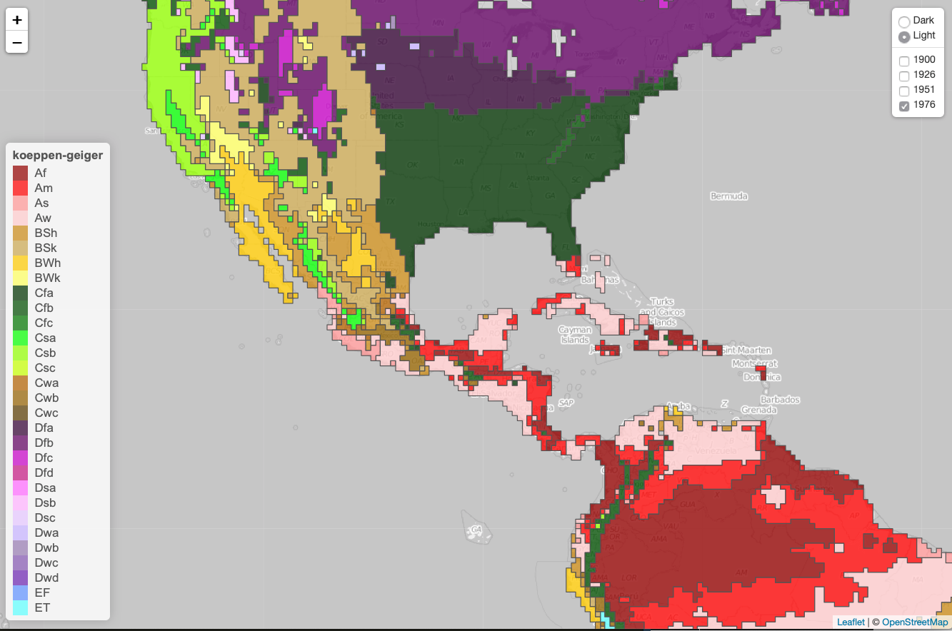 Climate map using leaflet :: Ay up!       — (guxsousa)